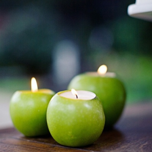 green-apple-candle-holders