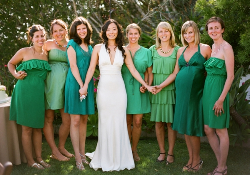 green-bridesmaid-dress-ideas