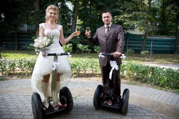 свадьба сегвей