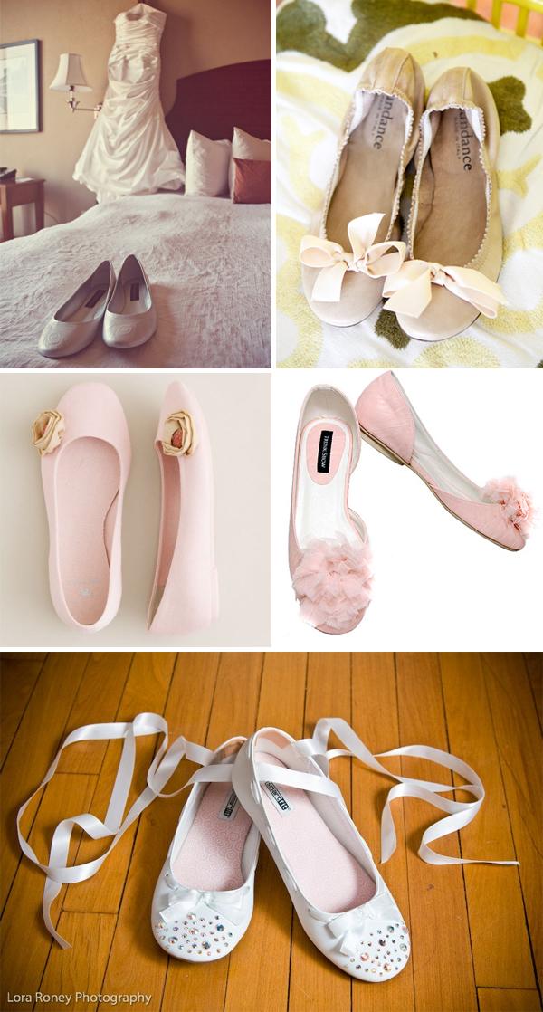 туфельки-невесты-балетки-белые-розовые
