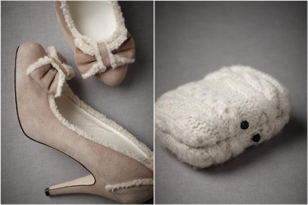 cozy-round-toe-pumps-from-BHLDN-wool-knit-clutch-from-BHLDN-winter-wedding-fashion-winter-bride-winter-wedding