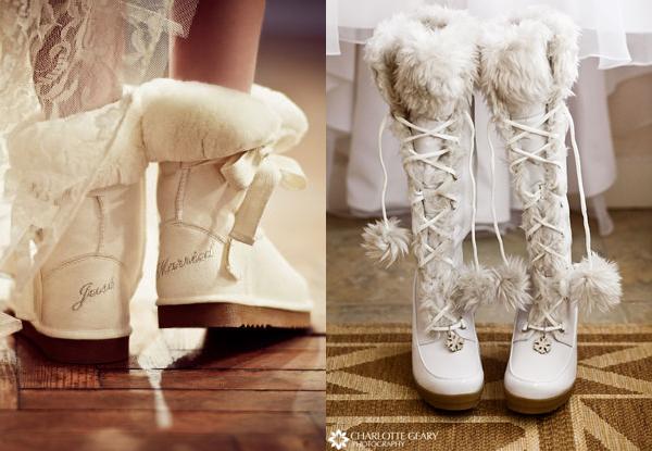 зимняя невеста сапоги угги