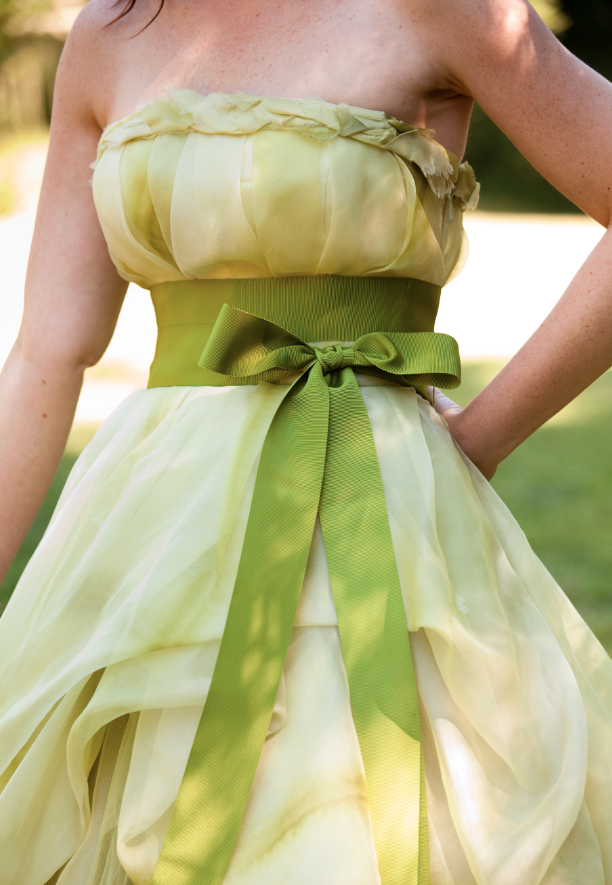 erin-kris-real-wedding-green-dress