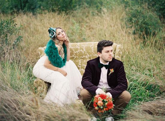 свадебная фотосессия поздней осенью