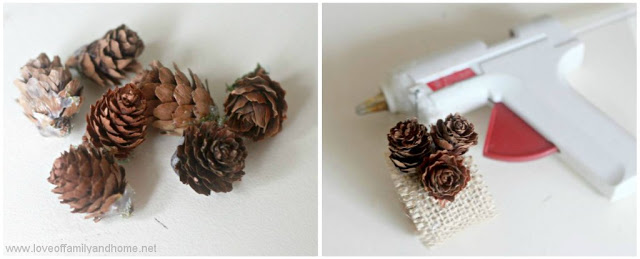 Fall Napkin Ring Tutorial Collage 4