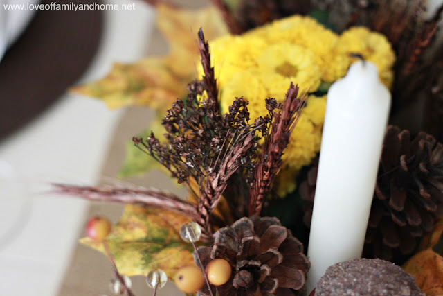 Teal & Yellow Fall Tablescape 089 edited