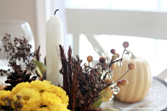 Teal & Yellow Fall Tablescape 125 edited