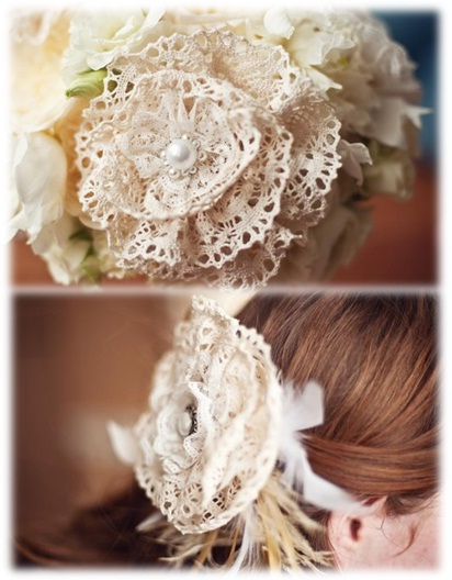 DIY-Vintage-wedding-Hair-flower