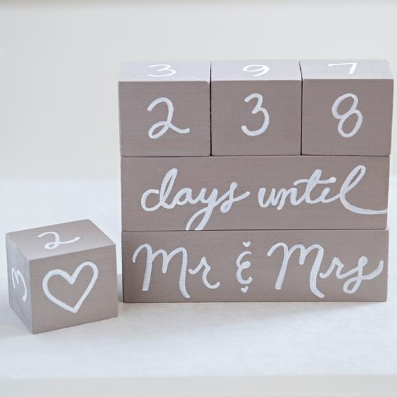 Копия SomethingTurquoise-DIY-Wedding-Countdown-Blocks_0008